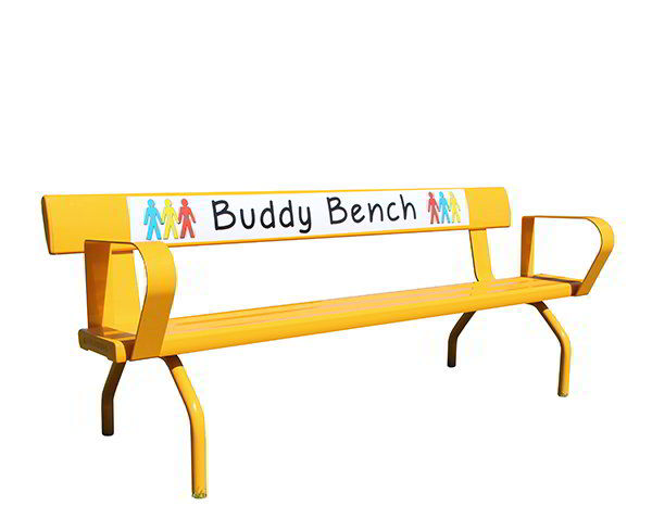 Felton FREE-STANDING BUDDY BENCH WITH BACKREST