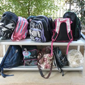 2-Tier x 2mtr Bag Rack 2