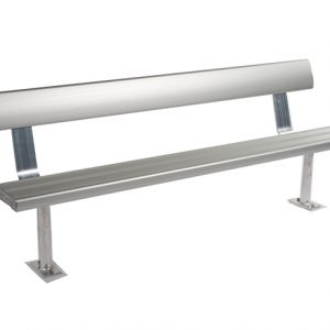2mtr Above Ground Bench Seat With Backrest