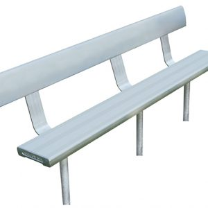 2mtr In-Ground Bench Seat With Backrest