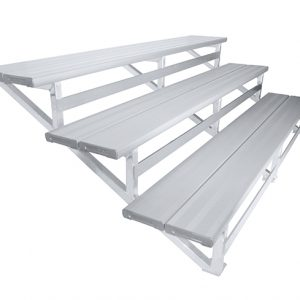 Felton 3 Tier 3mtr Wall Mounted Spectator Seating