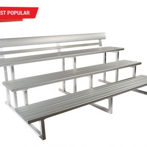 3-Tier-Double Plank Spectator-Seating