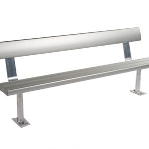 Above Ground Bench Seat With Backrest