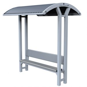 Backrest Bench Shelter 1
