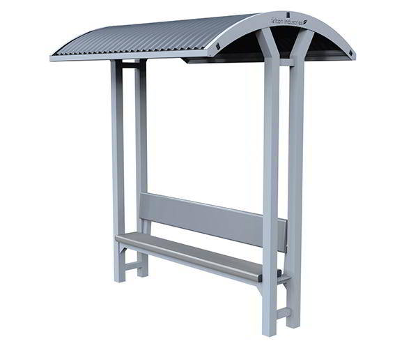 Felton Backrest Bench Shelter