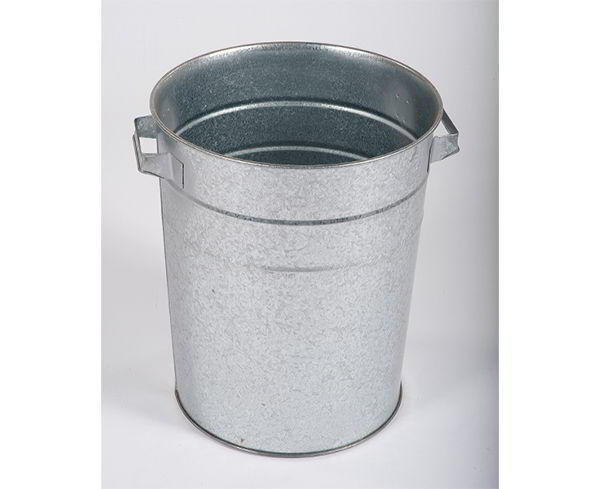 Felton Galvanised D-Handle Bin