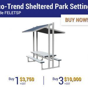 Felton Industries Super Savings on Eco-Trend Sheltered Park Settings