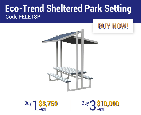 Felton Industries Super Savings on Eco-Trend Sheltered Park Settings