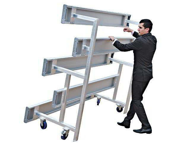 Felton Tip 'n Roll Mobile Grandstand