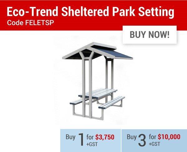 Eco-Trend Sheltered Park Setting