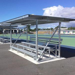 Felton Sunsafe Select Grandstand at Cairns Netball