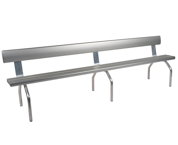 Felton Industry-Free-Standing-Bench-Seat-with-Back-rest