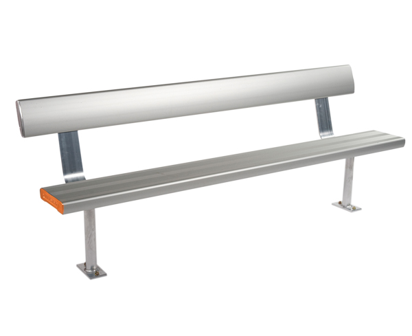 Industry Above-Ground-Bench-Seat-With-Backrest