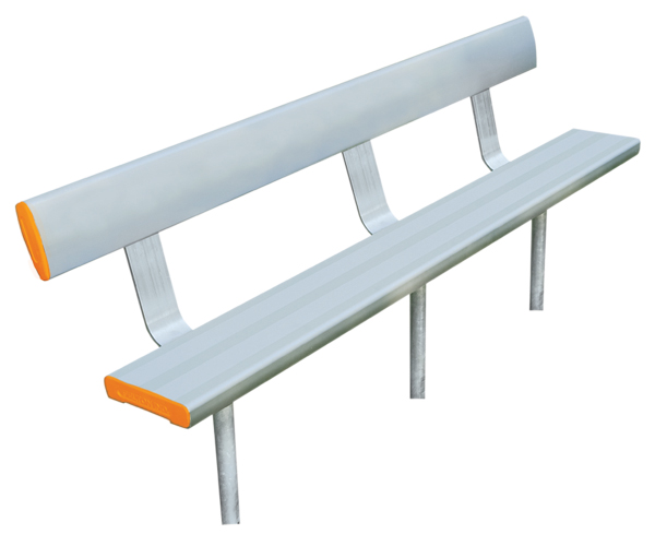 Industry In-Ground-Bench-Seat-With-Backrest
