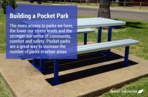 Felton Building a Pocket Park