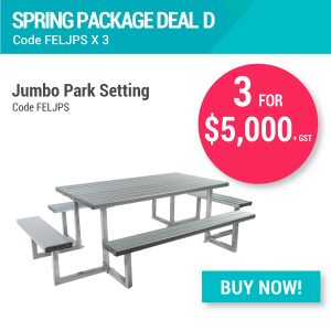 Felton Spring Package Deal Jumbo Park Settings