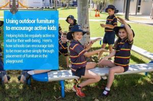 Using Outdoor Furniture to Encourage Active Kids