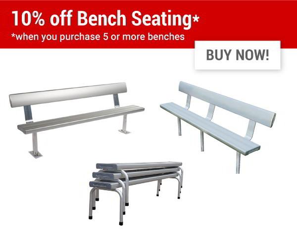 10% off Felton benches