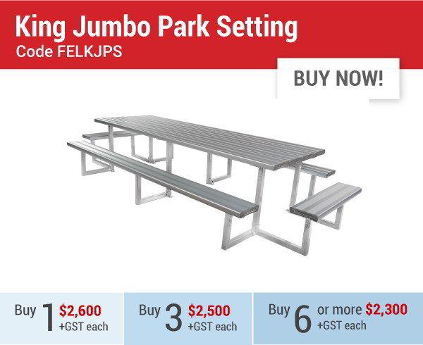 Felton King Jumbo Park Setting