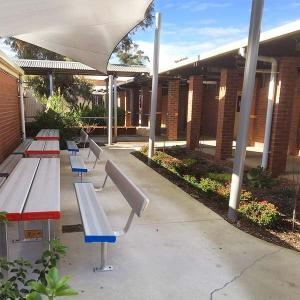 Felton Industries Park Setting at Willetton School
