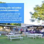 Transforming parks and outdoor spaces to build communities