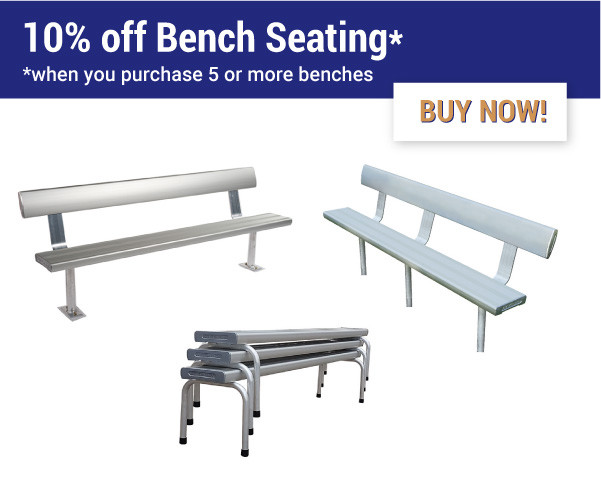 Felton Industries 10 percent off bench seating - Super Savings Season