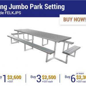 Felton Industries King Jumbo Park Settings - Super Savings Season