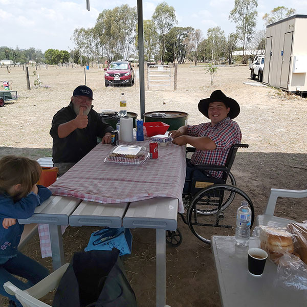 Felton Industries Wheelchair Setting Lockyer Valley