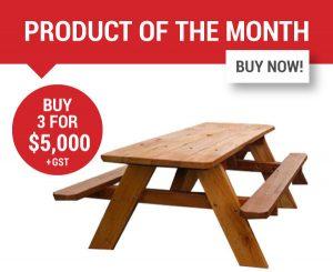 Felton Classic Timber Picnic Table
