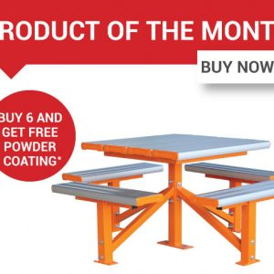 August Product of the Month - Pedestal Park Setting