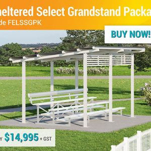 Felton End of Year Sale Sheltered Select Grandstand Package