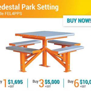 Felton End of Year Sale Pedestal Park Settings