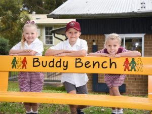 Felton Buddy Bench at Caringbah Public School