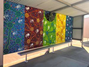 Felton Outdoor Bench Seat at Lumen Christi College