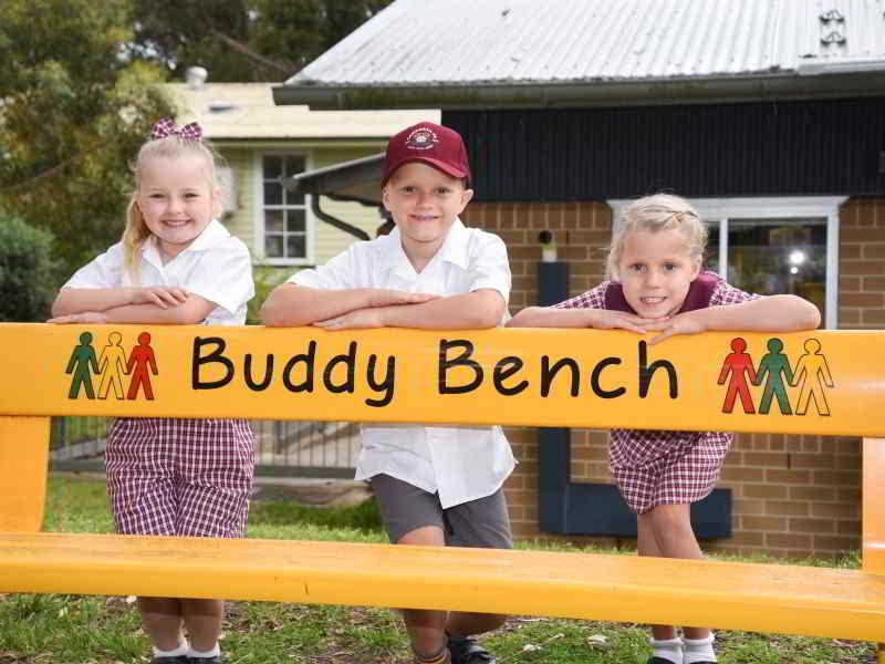 Felton Buddy Bench